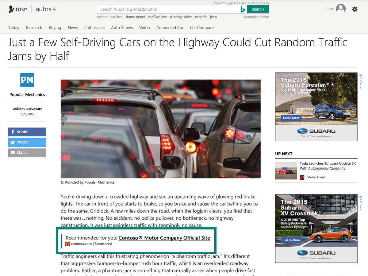 Bing Native Ads Rollout Gains Steam Support Coming To Bing Ads Editor  Search Engine Land