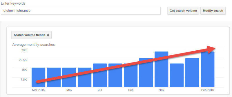 Search Volume Over Time
