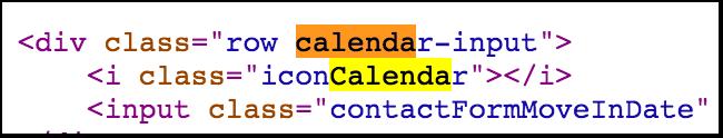 Calendar Code