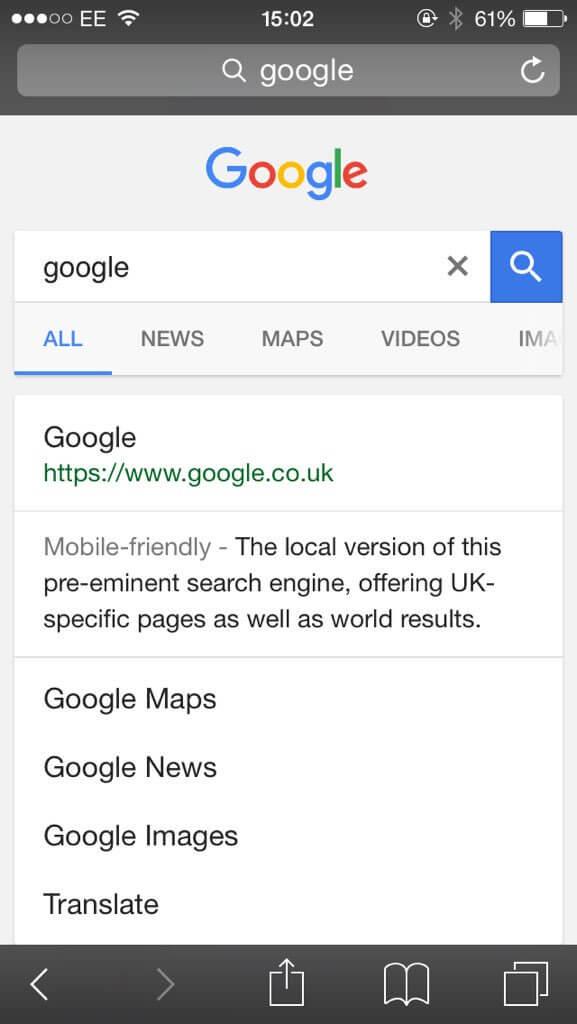google-black-links