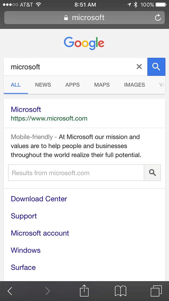 google-blue-title-links