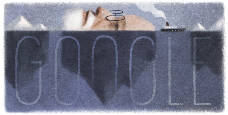sigmund-freuds-160th-birthday Google Doodle