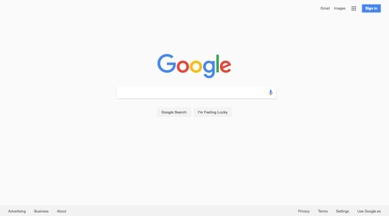 Google tests gray background on homepage while Yahoo