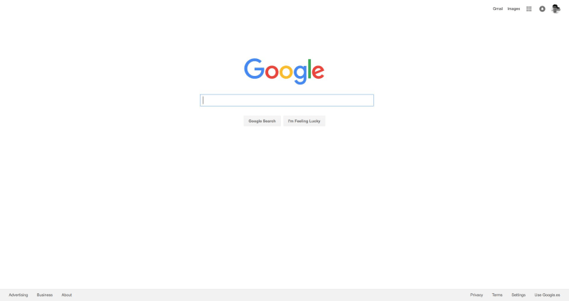 Google Tests Gray Background On Homepage, While Yahoo