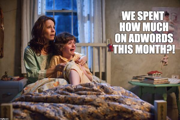 we spent how much on adwords