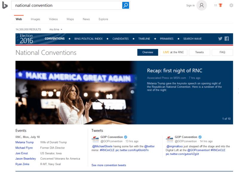 Bing desktop search