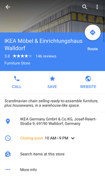 search items at this store google local inventory advertisers