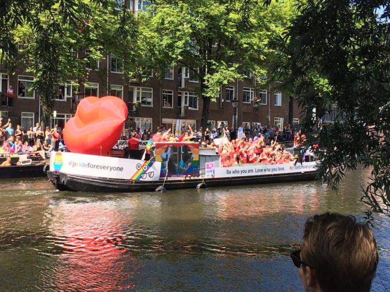 Google Pride Boat