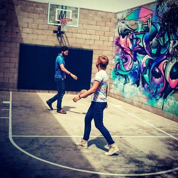 google-basketball-court