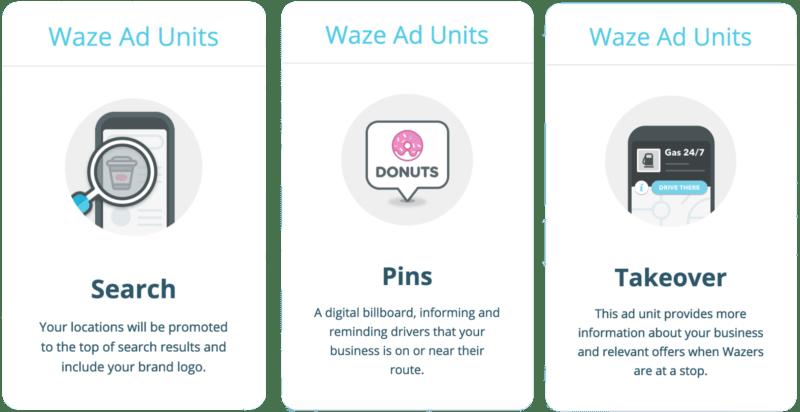 Waze Ad Types