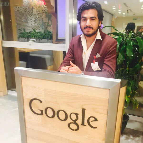 google-reception