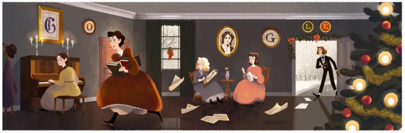 louisa-may-alcott-doodle