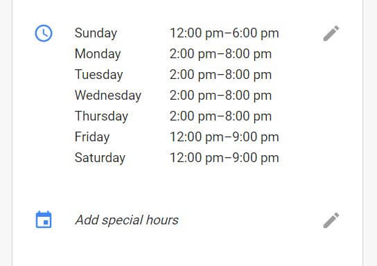 special-hours-google-my-business