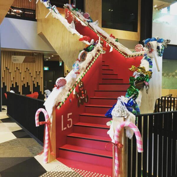 google-holiday-staircase
