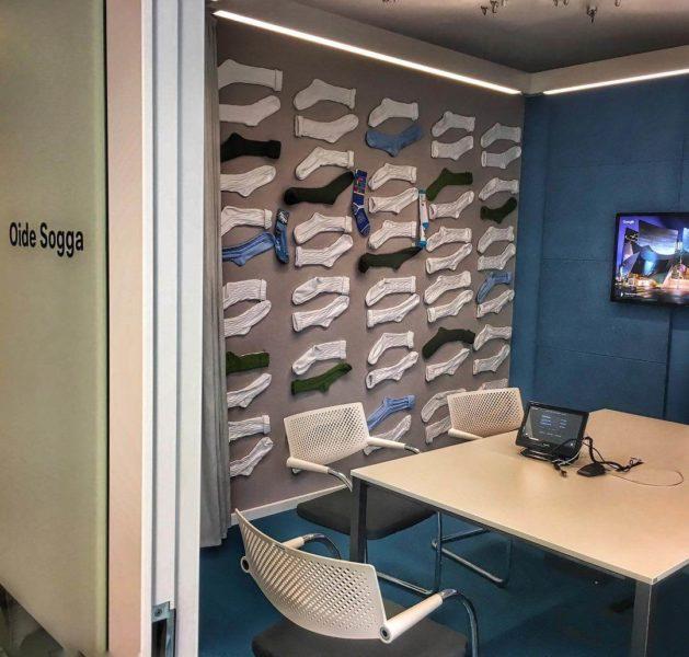 google-sock-office-wall