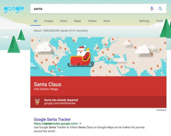 Google Santa