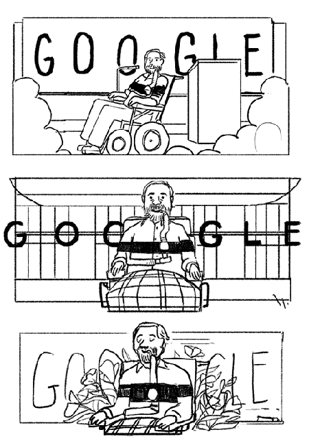 Ed Roberts activist Google Doodle honors leader of the