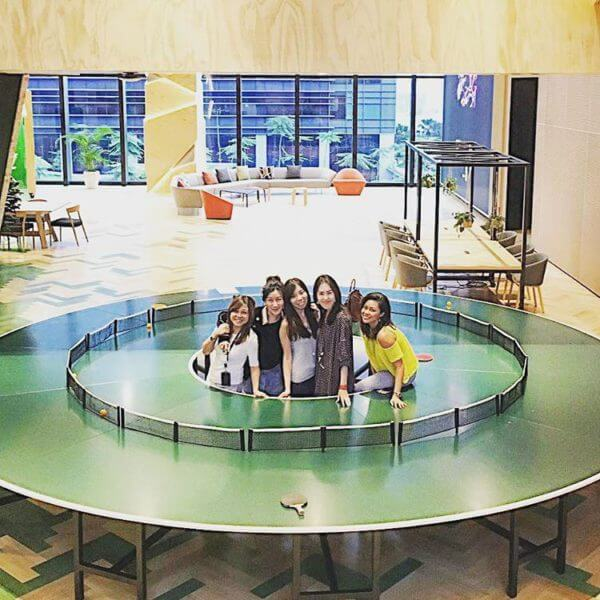 google-circle-ping-pong-table
