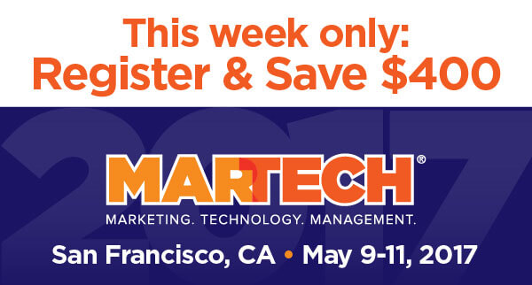 This week only: Register & Save $400