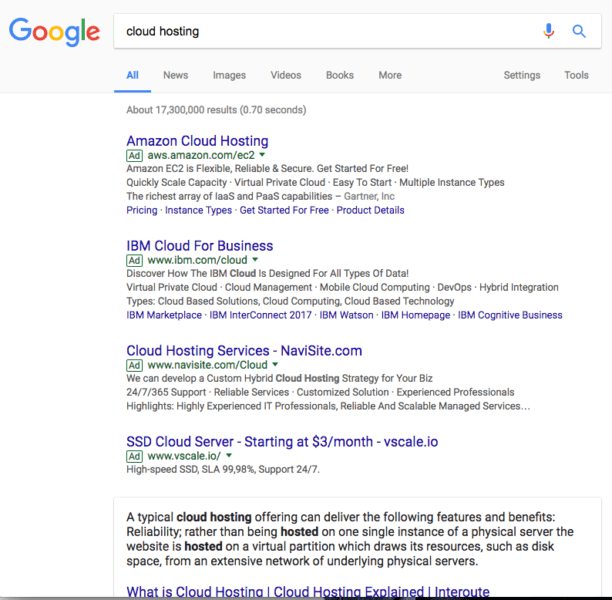 four google ads