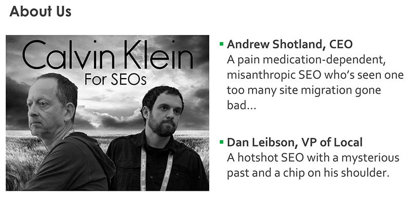 Info about Andrew Shotland and Dan Leibson at SMX West 2017