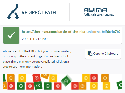 Ayima Redirect Path screenshot