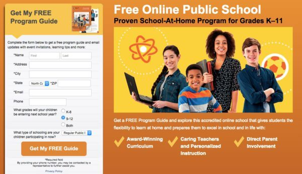 homeschool site
