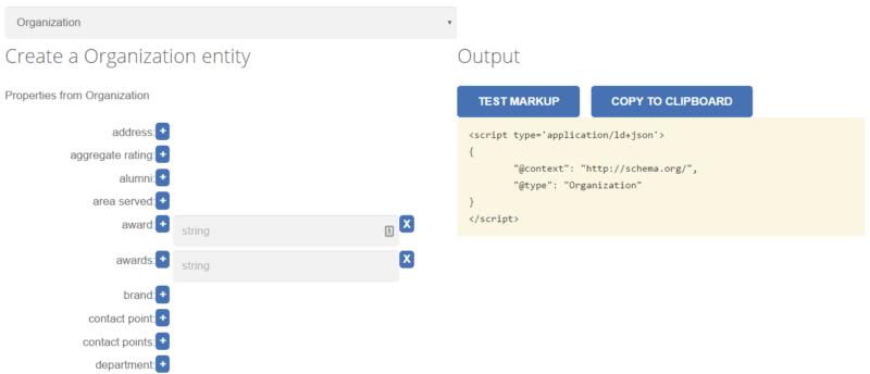Schemaapp.com JSON-LD Schema Generator