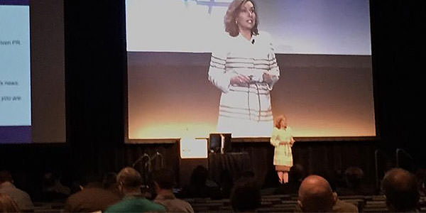 Cheryl Snapp Conner at the American Association of Orthodontists 2016 Convention, Moscone Center, San Francisco