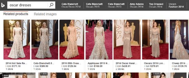 Stores selling Cate Blanchetts 2017 Oscar Dress