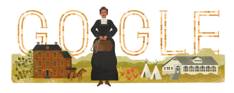 Susan La Flesche Picotte Google doodle pays homage to 1st American Indian to earn her medical degree