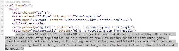 google hire long meta