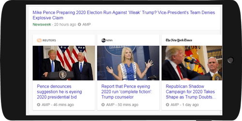 Top Stories AMP Carousel