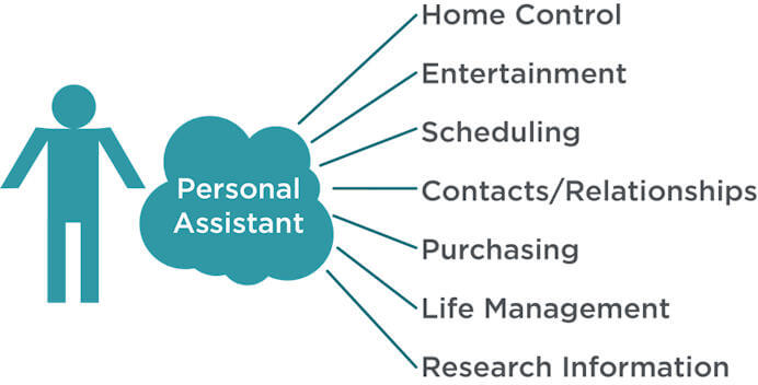 One Personal Assistant for All Your Online Needs