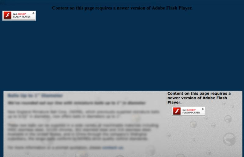 website-flash