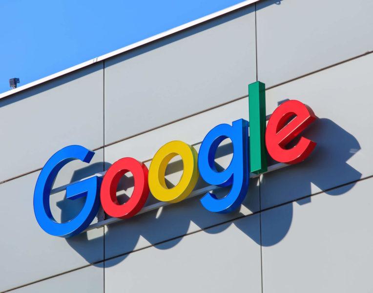 google-building-logo-shutterstock_559400386-764x600 Google marks 14 years as a public company