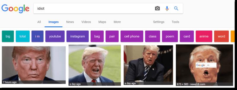 idiot trump ile ilgili görsel sonucu