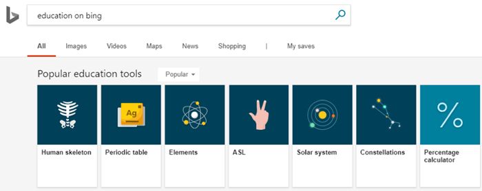 EDU-1.png Bing improves visual search, adds educational carousel, American Sign Language and NFL answers