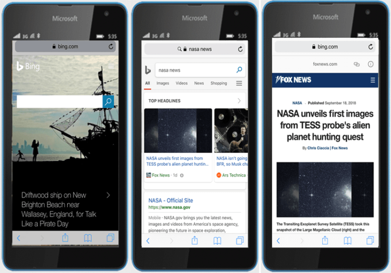 bing-amp-viewer-800x559 Bing finally releases AMP viewer for news stories in mobile search