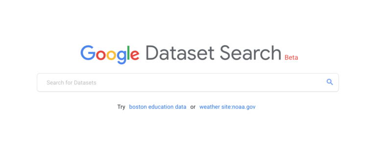 datasetsearch-800x308 Google Dataset Search: A new search service to find data from sciences, government, some news organizations