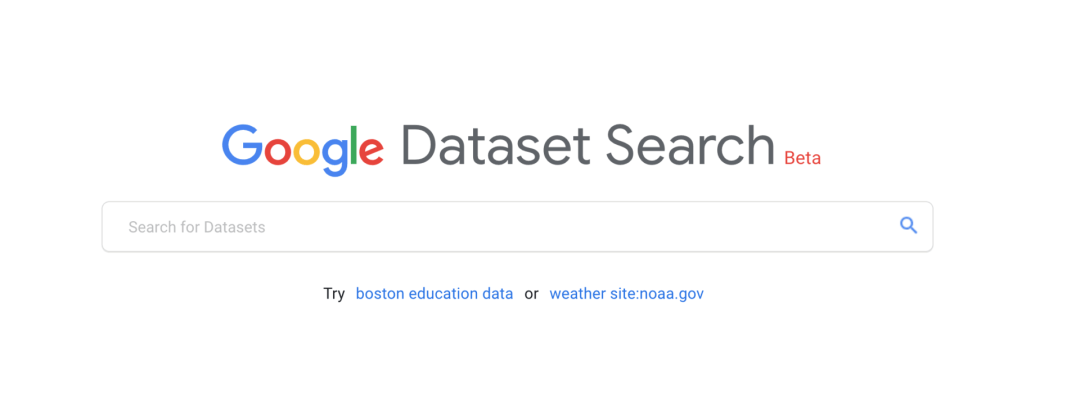 datasetsearch Google Dataset Search: A new search service to find data from sciences, government, some news organizations