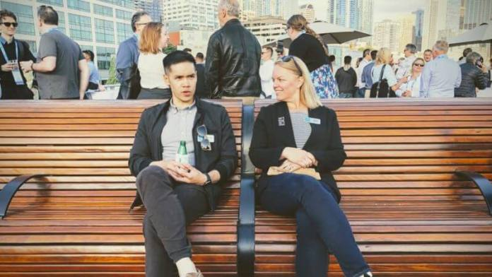 George Nguyen and Ginny Marvin at SMX Advanced 2019