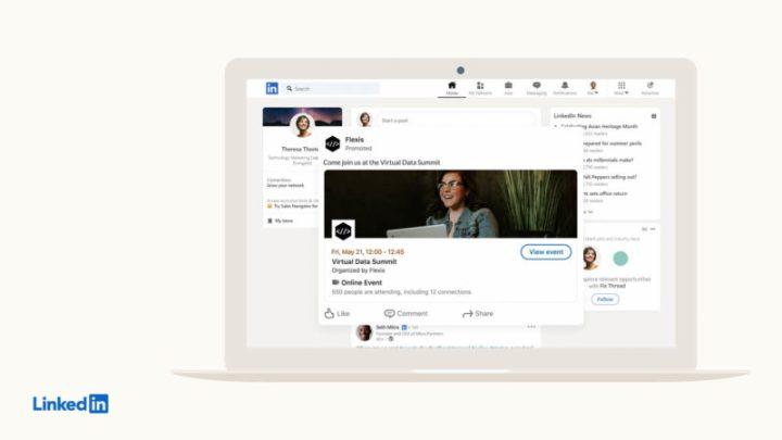 A LinkedIn Event Ad