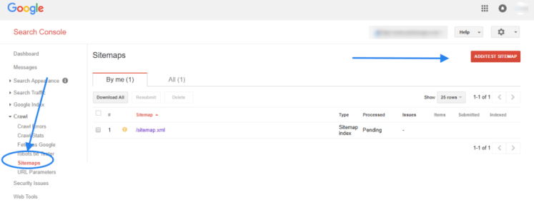 guide for search console