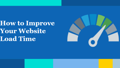 how to improve your website load time
