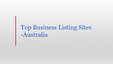 business listing sites Australia