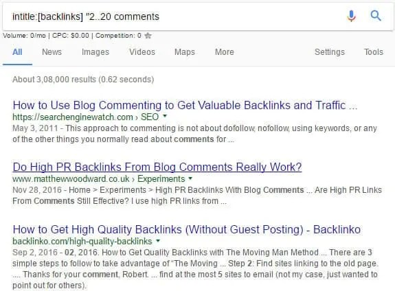 100 Plus High DA Blog Commenting Sites