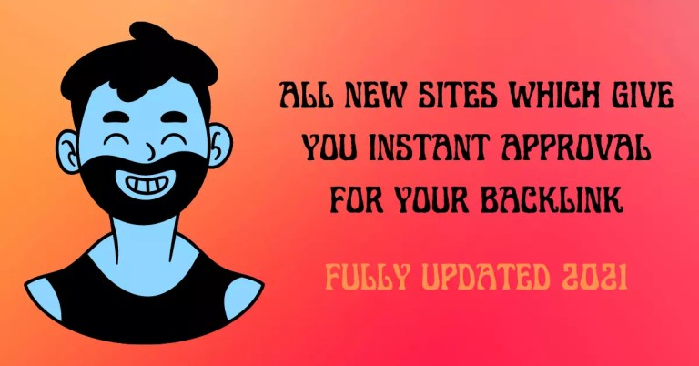 Instant Approval Blog Commenting Sites List 2021