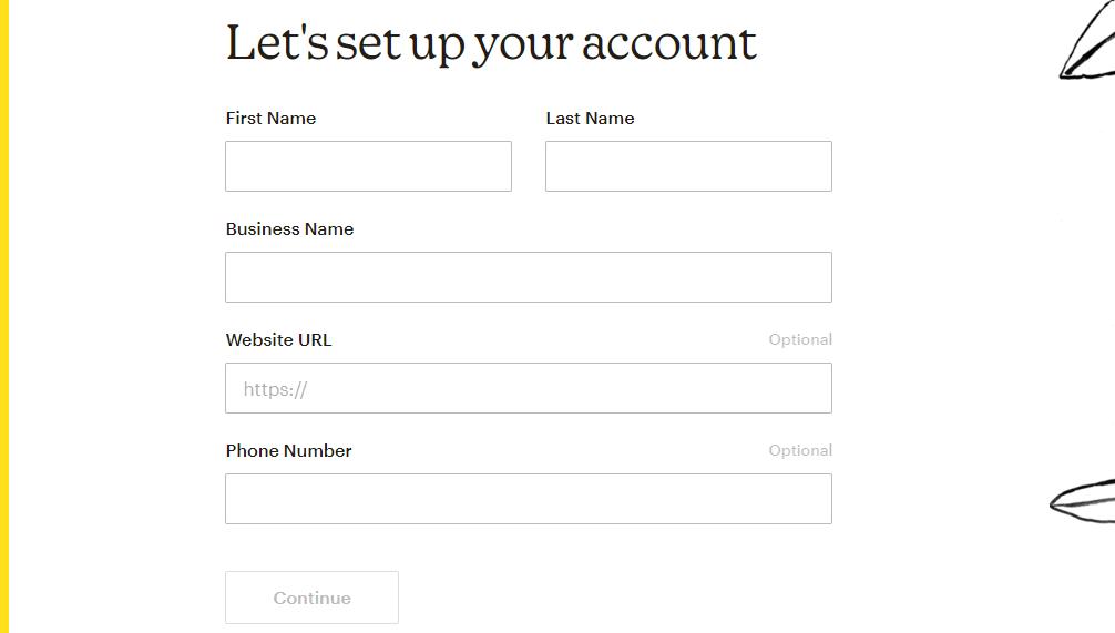 mailchimp free account setup