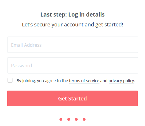 ConvertKit Account signup